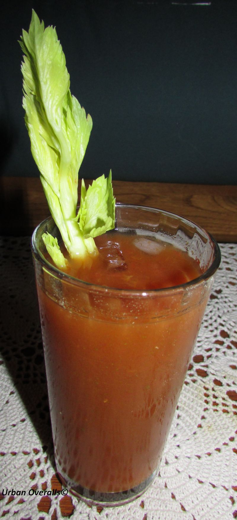How To Make A Bloody Mary Drink With V