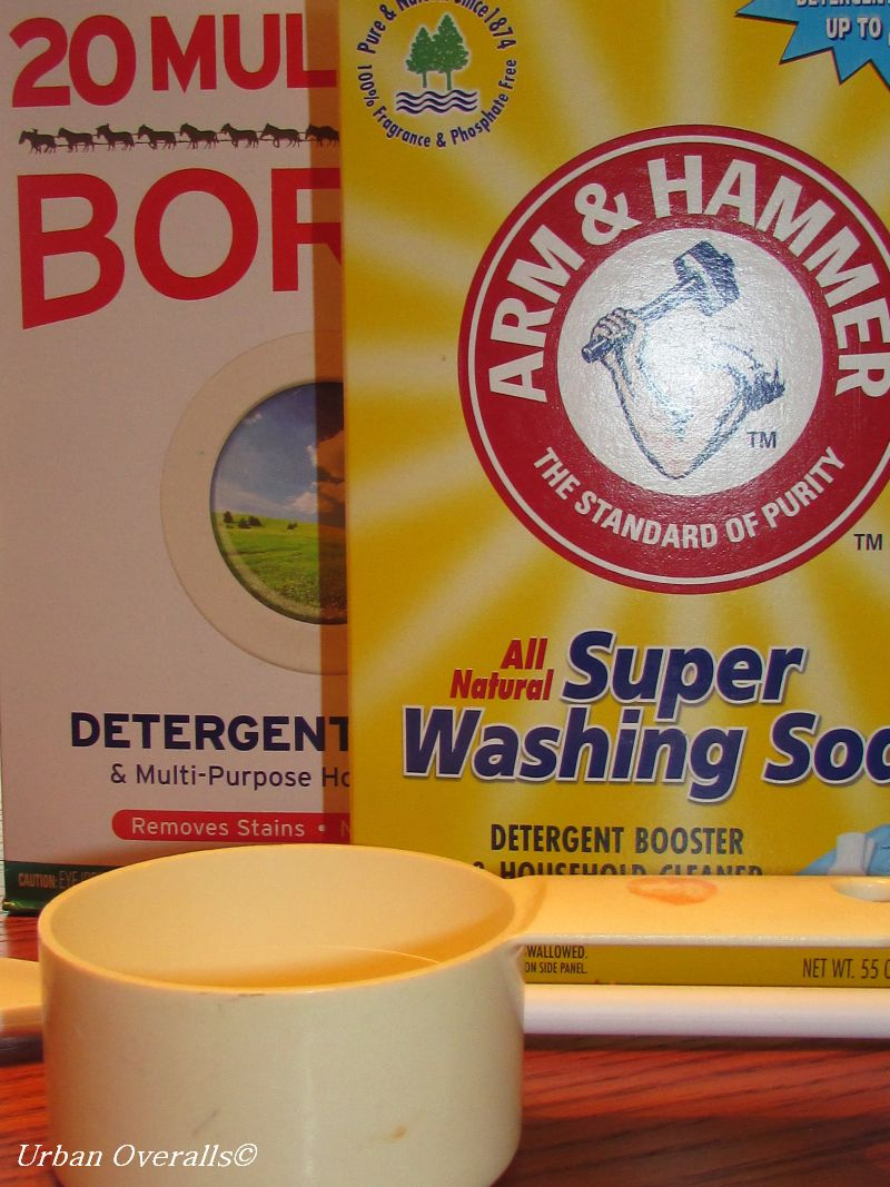 Wash Days: Make Your Laundry Detergent