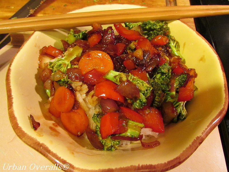Easy Asian Saute