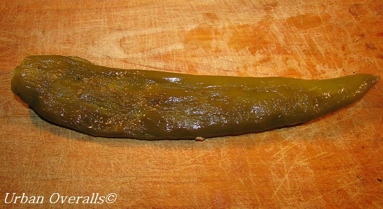 chile pepper skin removed
