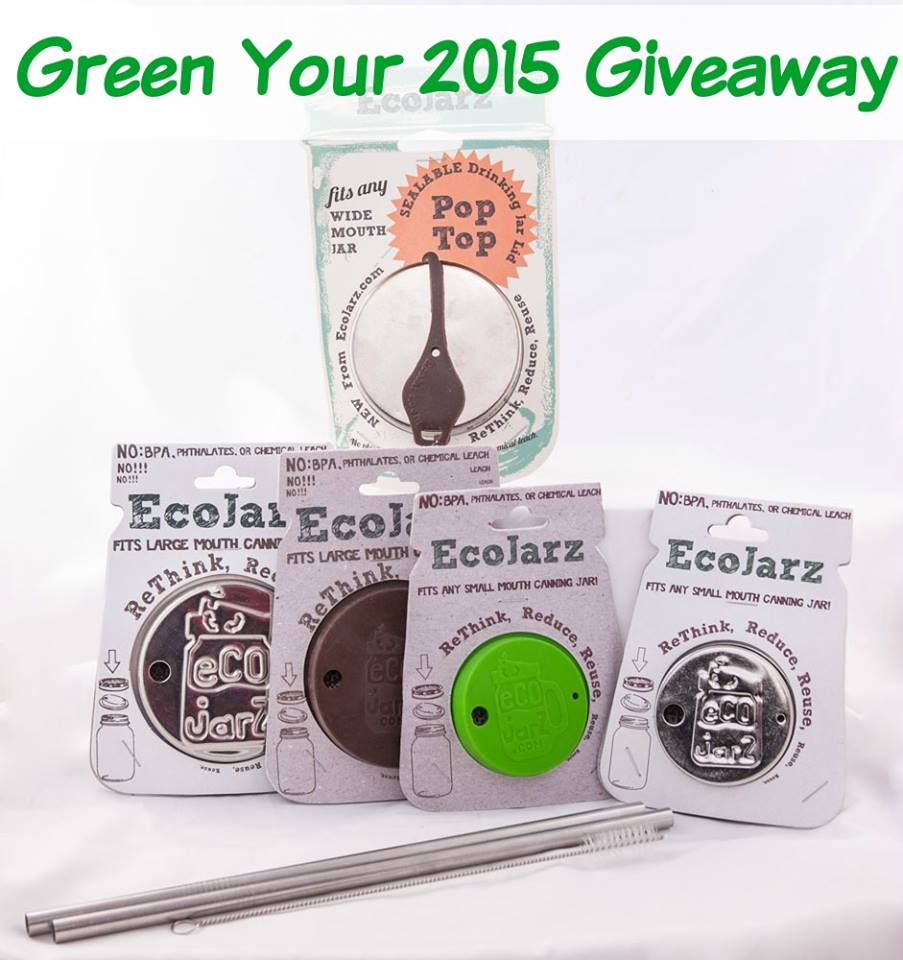 Green Your 2015: Eco Jarz Giveaway