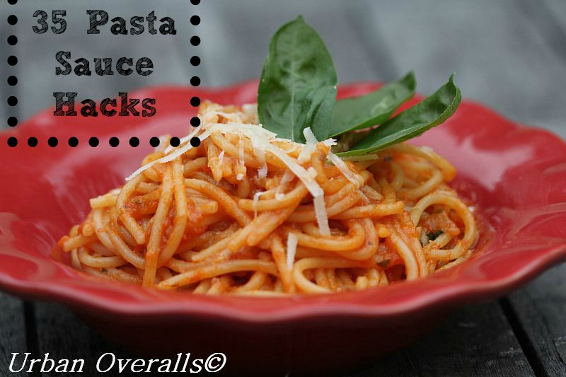 spaghetti with pasta sauce